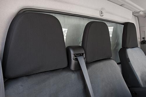Tissu Sitzbezüge Sitzschoner Iveco Daily fahrersitzug banc référence pliable