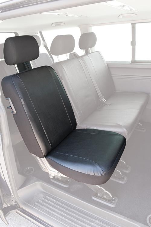 vw t6 transporter bj 04 15 schonbezug sitzbezug. Black Bedroom Furniture Sets. Home Design Ideas