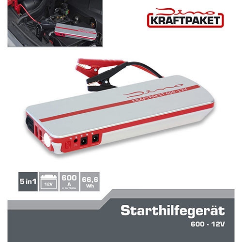 dino kraftpaket starthilfe ladeger t jumpstarter power. Black Bedroom Furniture Sets. Home Design Ideas