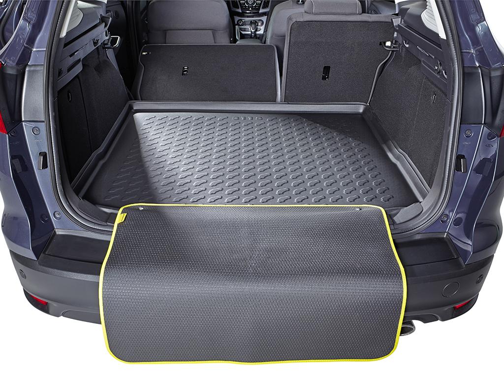 Laderaumwanne Gummiwanne Motiv Matte Wa Kofferraumwanne Opel Astra K Wagon 2015