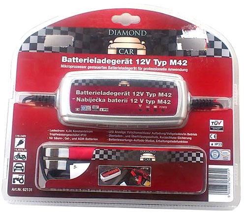 kfz pkw auto lader batterie ladeger t f r 12v neu art. Black Bedroom Furniture Sets. Home Design Ideas