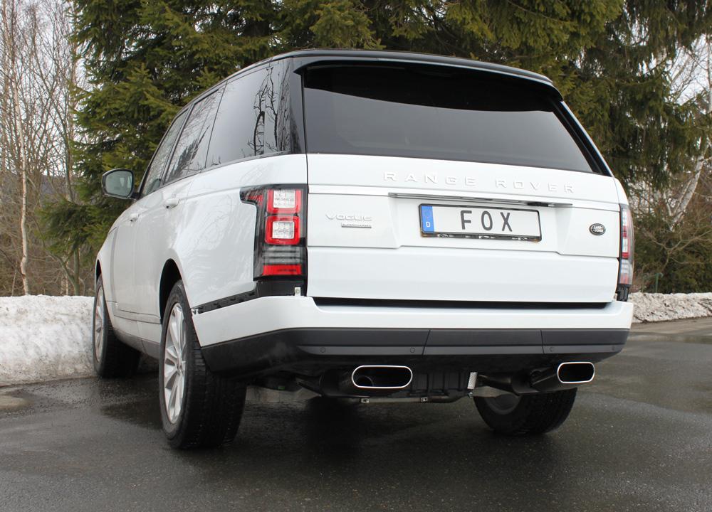 Fox Duplex Sportauspuff Komplettanlage Land Rover Range Rover IV - MK 5,0l 374kW