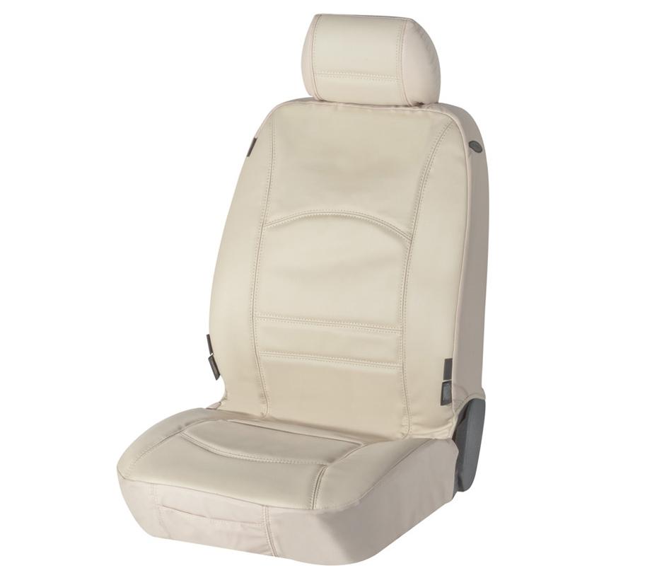 Sitzbezug Sitzbezüge Ranger aus echtem Leder beige Fiat Panda
