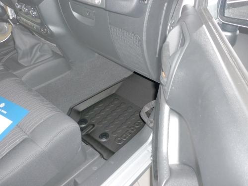 Carbox FLOOR Fußraumschale Chrysler Jeep Wrangler III JK kurzer langer Radstand