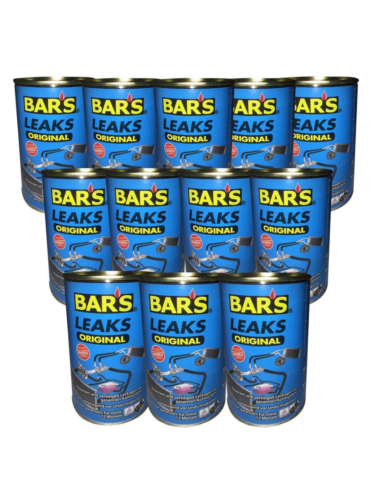 12x Dr.Wack BARS Leaks Original Kühlerdichtung Kühlerdichtmittel blaue Dose 150g