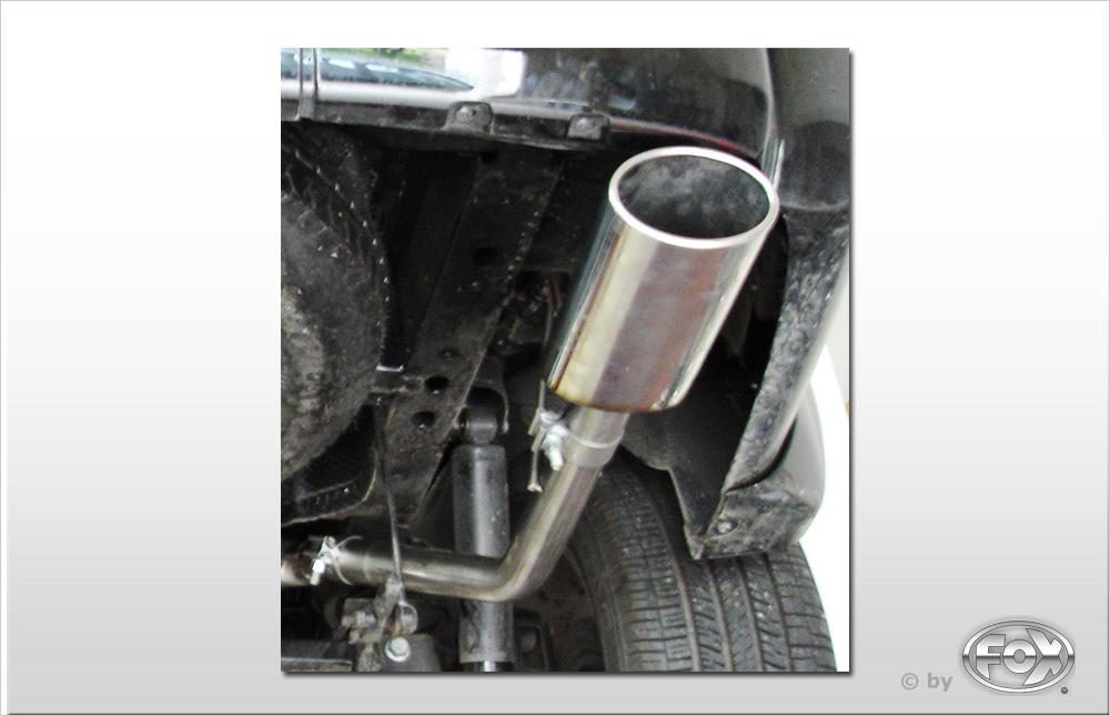 Fox Auspuff Sportauspuff Endrohrsystem Dodge Nitro 3,7l 151/157kW 4,0l 191kW