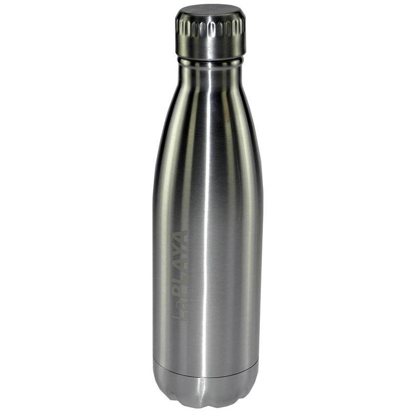 Trinkflasche LaPlaya Wasserflasche Flasche Sport Fitness 0,47l metall