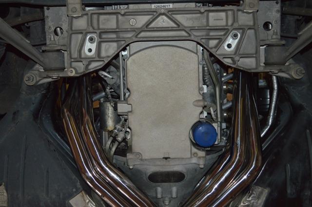 Friedrich Motorsport Fächerkrümmer 200 Zellen HJS SportKat Chevrolet Corvette C6