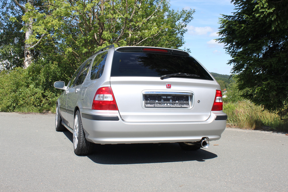Fox Auspuff Sportauspuff Komplettanlage Honda Civic VI - Aerodeck 1,8l 124kW