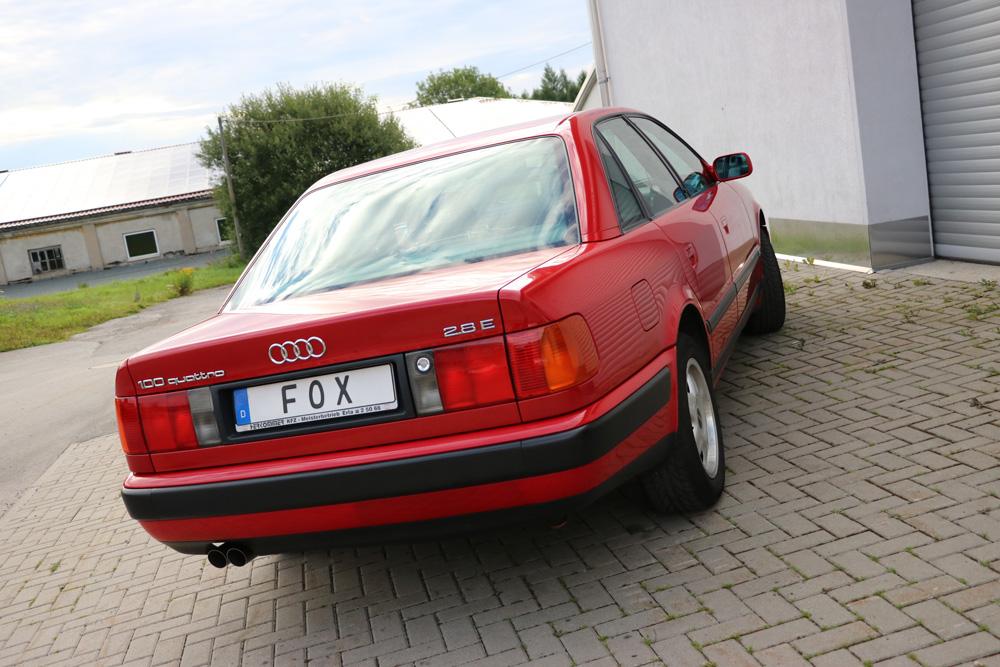 Fox Auspuff Sportauspuff Komplettanlage Audi 100/A6 quattro C4 2,6l 110kW 2,8l