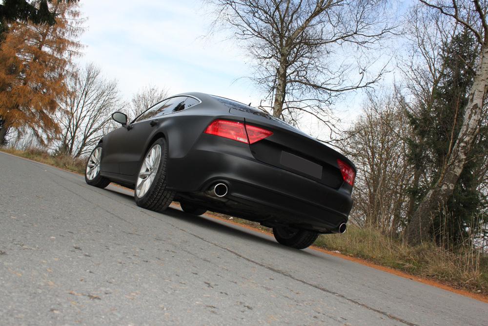 Fox Duplex Auspuff Sportauspuff Komplettanlage Audi A7 quattro 4G 3,0l TFSI