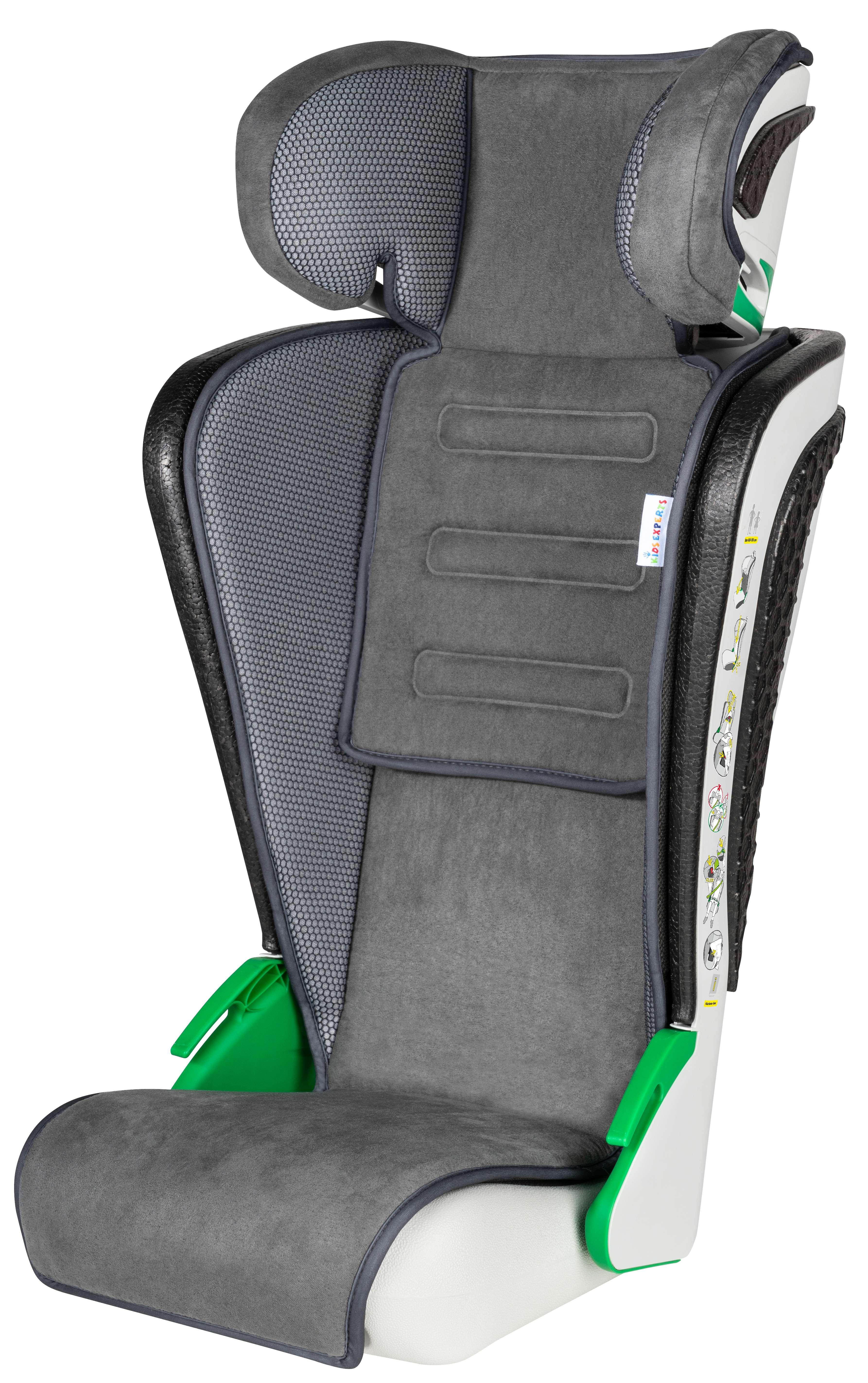 Autokindersitz Autositz Kinderautositz 3-8 Jahren 100-135cm ECE 129 anthrazit