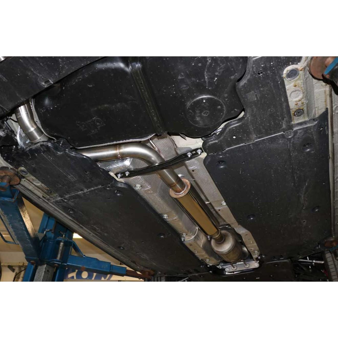 Fox Auspuff Vorschalldämpfer Schalldämpfer Audi A1 40TFSI 2,0l 147kW