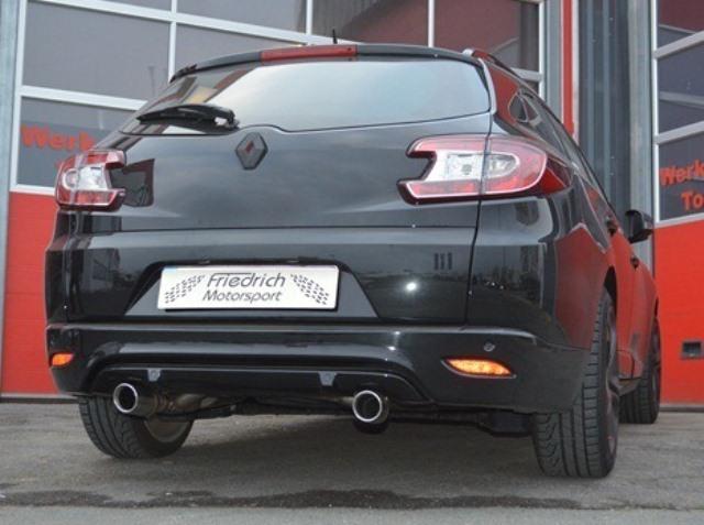 Friedrich Motorsport Gruppe A Sportauspuff Renault Megane 3 Typ GT Grandtour