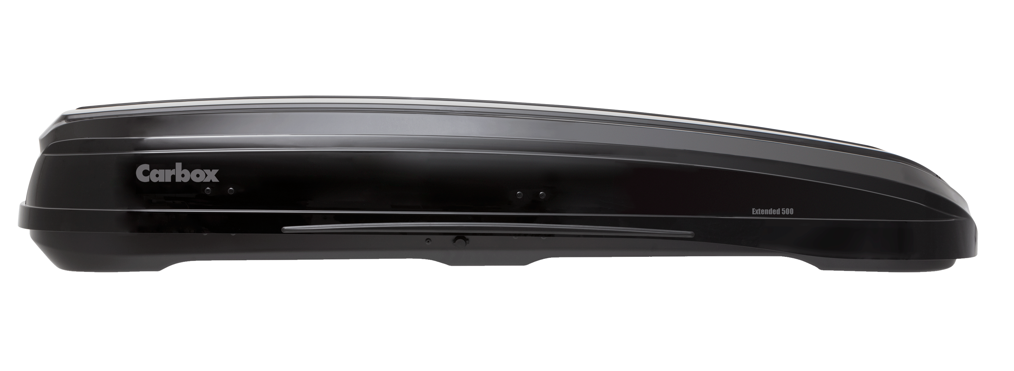 Carbox Dachbox Gepäckbox H22 hochglanzschwarz mit Befestigung QG2.0