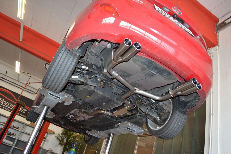 Friedrich Motorsport Duplex Auspuff Sportauspuff Hyundai i30 Kombi GD Bj. 06/12-