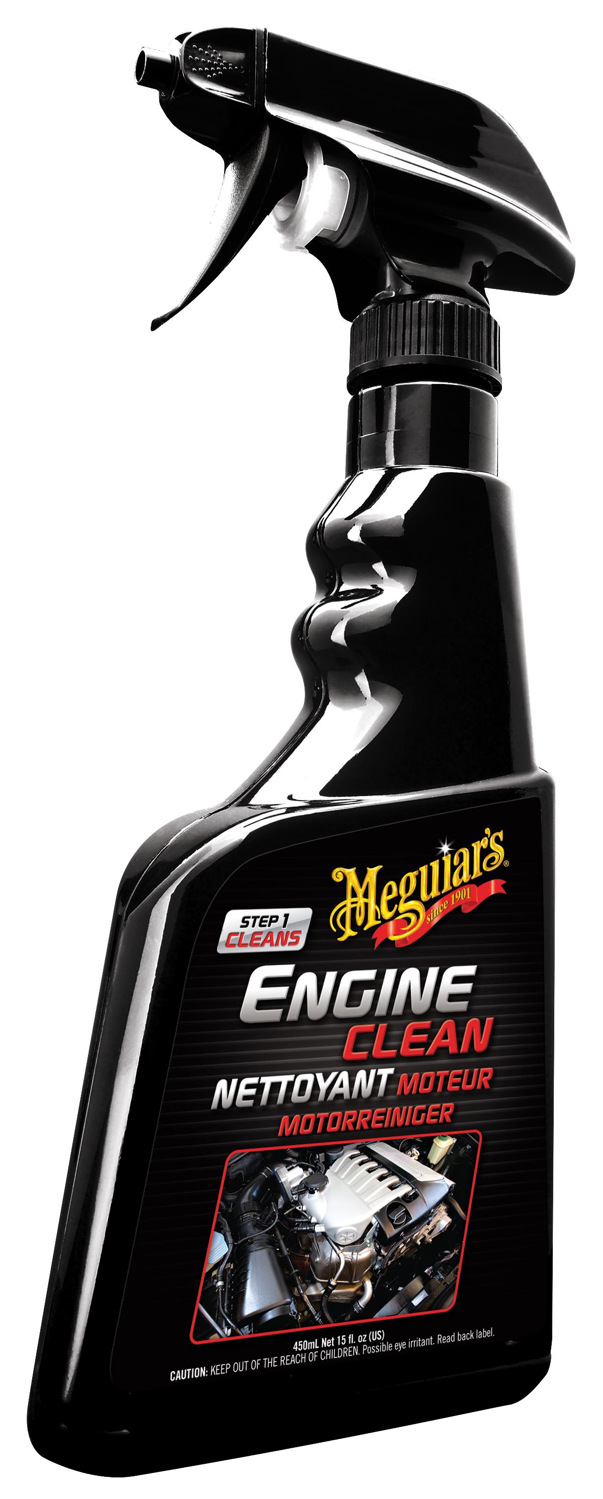 Meguiars Engine Clean Motorreiniger Motor Reiniger Motorpflege G14816EU 450 ml