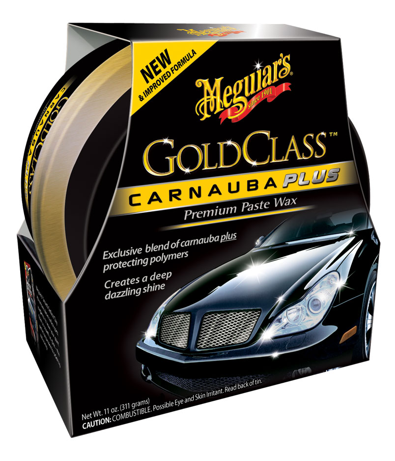 Meguiars Gold Class Carnauba Plus Premium Paste Wax Auto Wachs G7014EU 311g