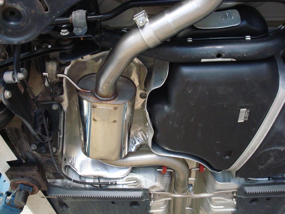 Fox Duplex Auspuff Sportauspuff Komplettanlage VW Golf VI GTI - 1K 2,0 FSI