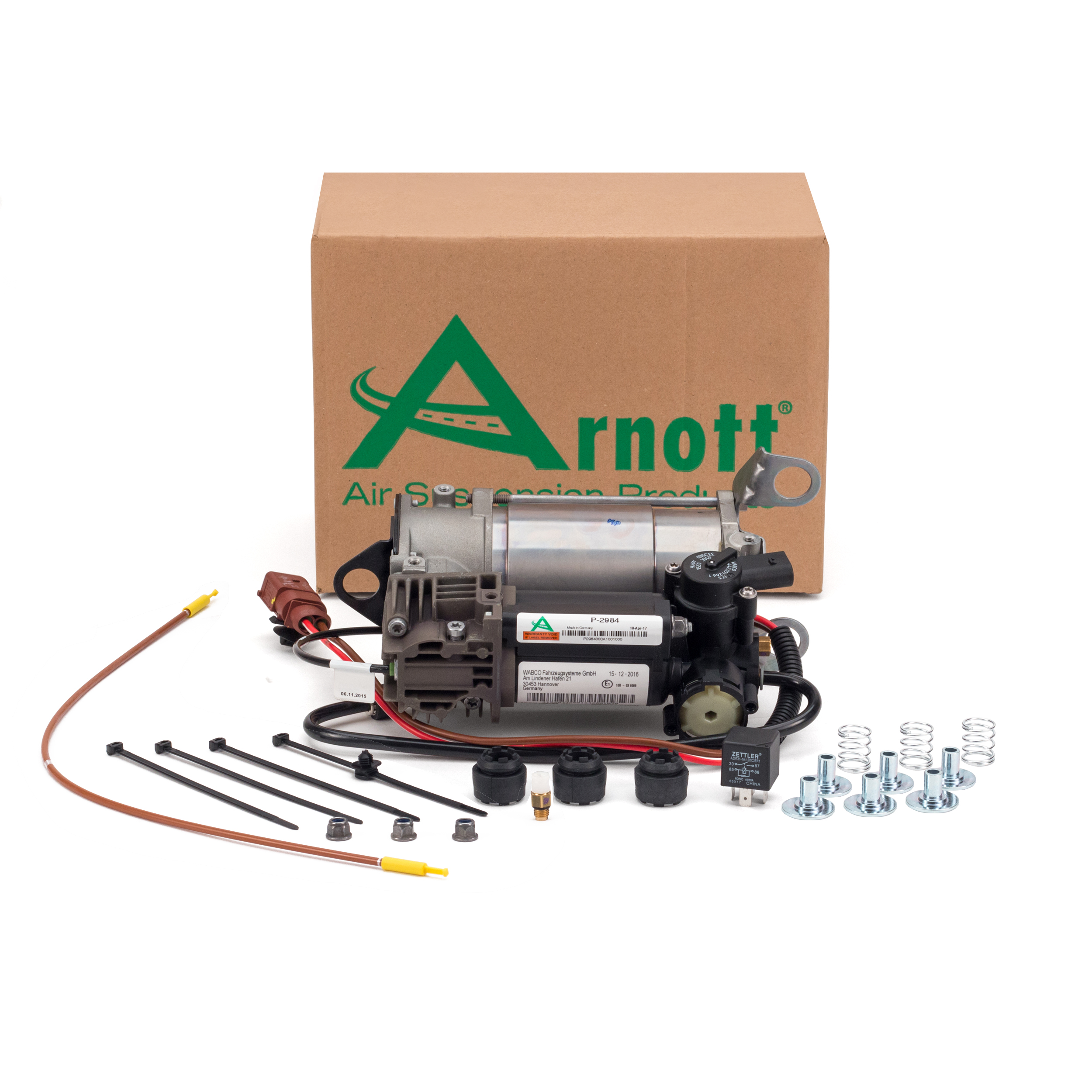 Arnott Kompressor Luftfederung Luftfahrwerk Audi A6,Allroad, Avant quattro C6