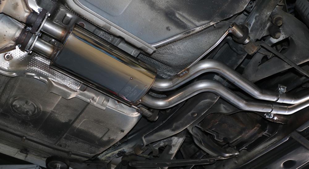 Fox Vorschalldämpfer Auspuff Sportauspuff BMW E34 530i 3,0l 138/160kW
