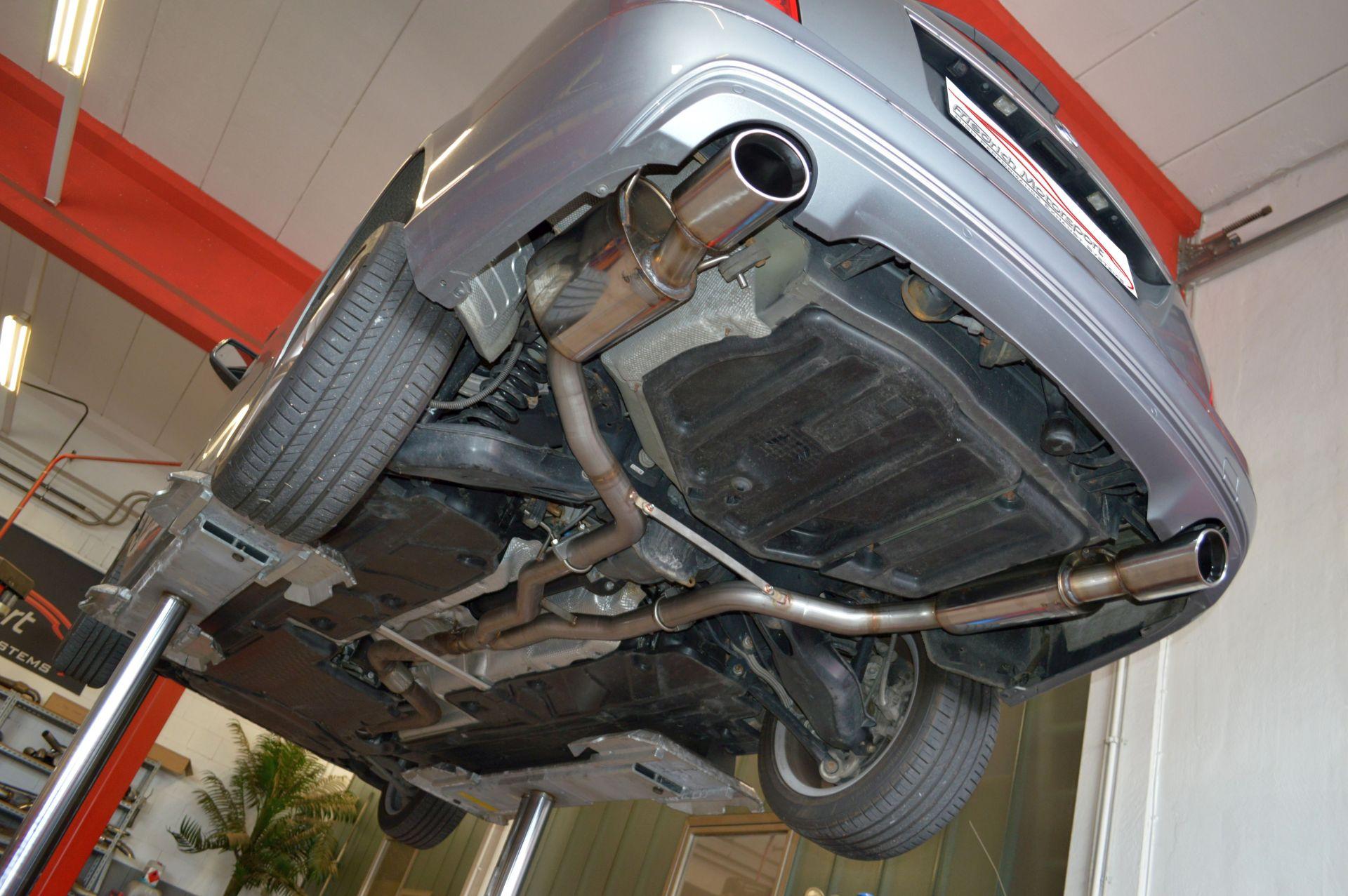Friedrich Motorsport Duplex Sportauspuff Mercedes S/W204 C-Klasse Limo, T-Modell