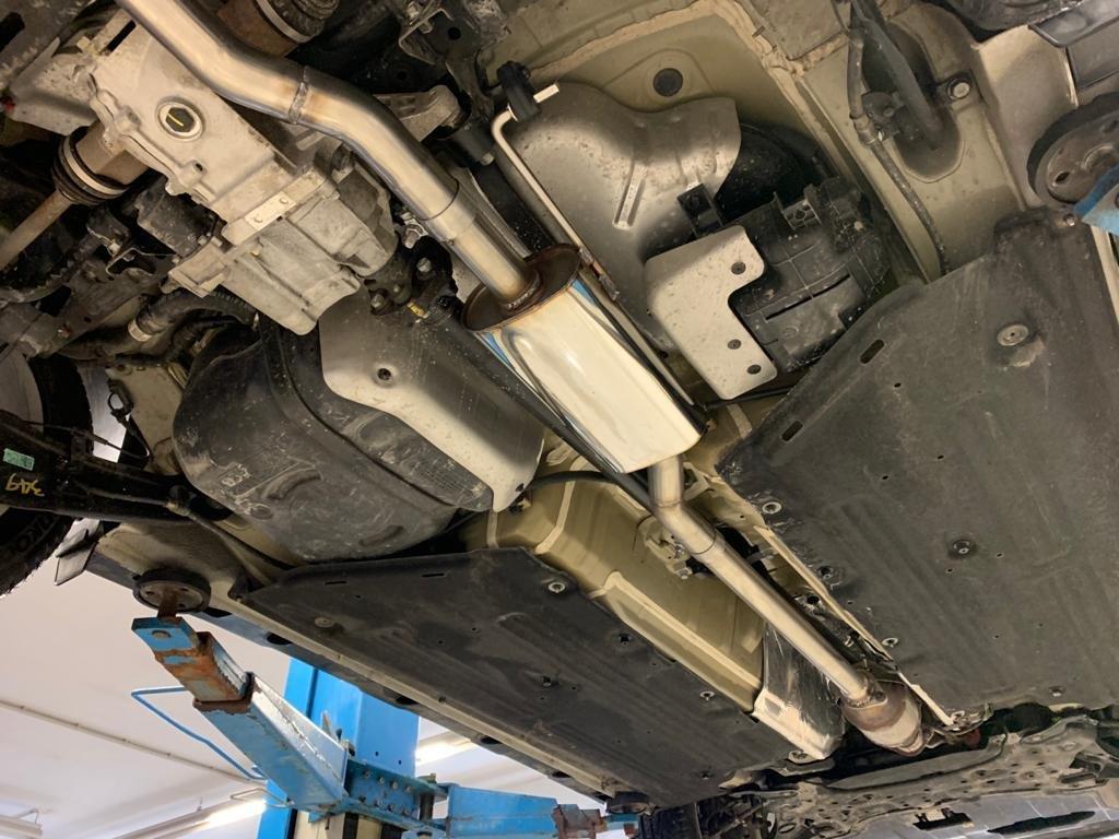 Fox Auspuff Vorschalldämpfer Schalldämpfer Hyundai Kona 1,6l 130kW