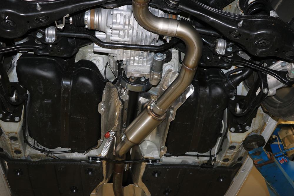 Fox Vorschalldämpfer Auspuff Sportauspuff Seat Leon ST 5F Cupra 300 4x4 2,0 221