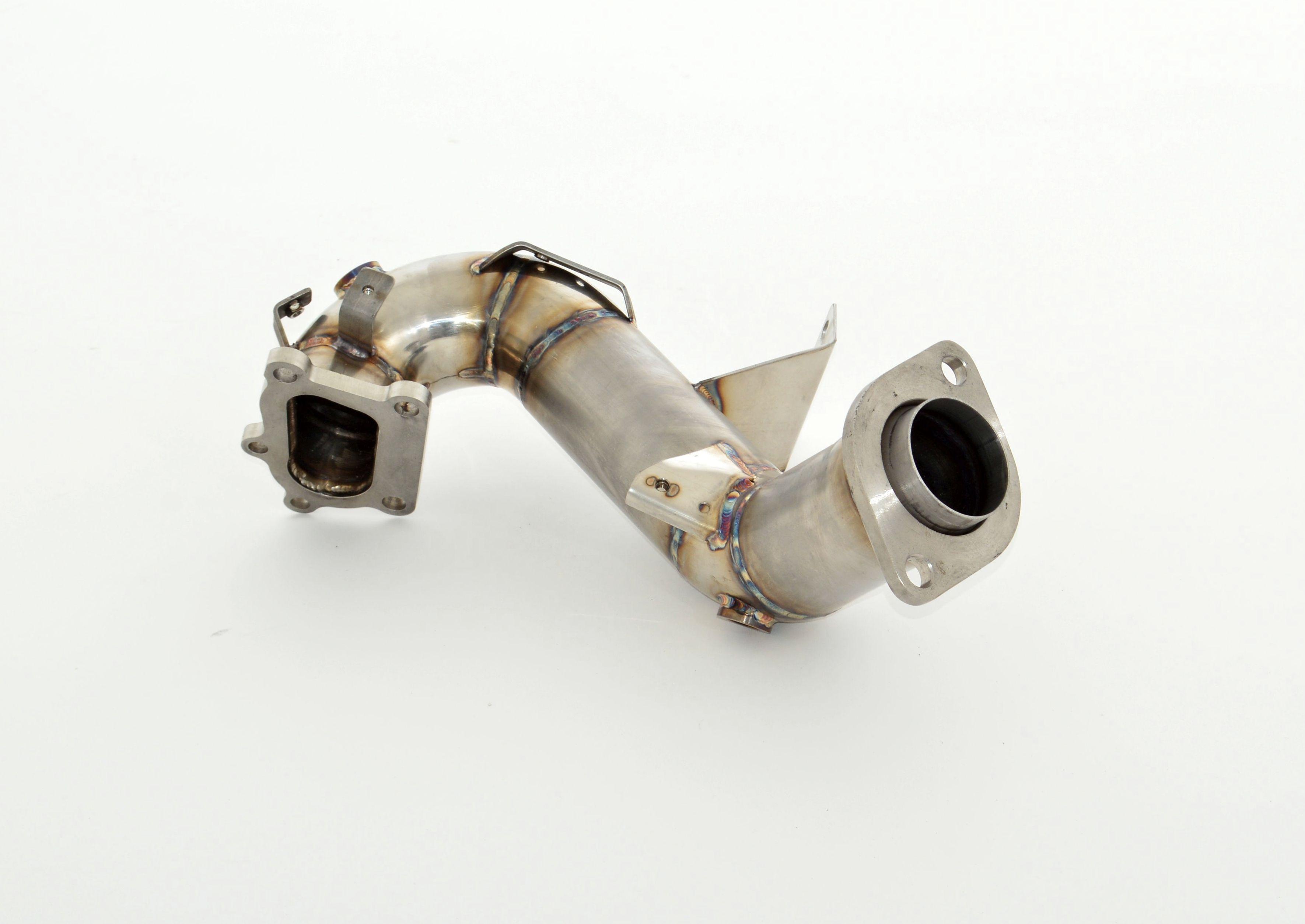Friedrich Motorsport 76mm Vorkat. Ersatzrohr Mazda 3 MPS BK BL 2.3l Turbo 191kW