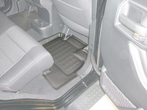 Carbox FLOOR Fußraumschale Chrysler Jeep Wrangler III JK langer Radstand hinten