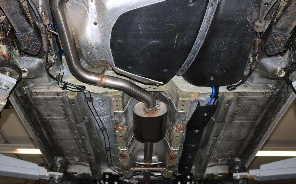 Fox Vorschalldämpfer Auspuff Sportauspuff  Alfa Romeo Brera 939 1,8l 147kW
