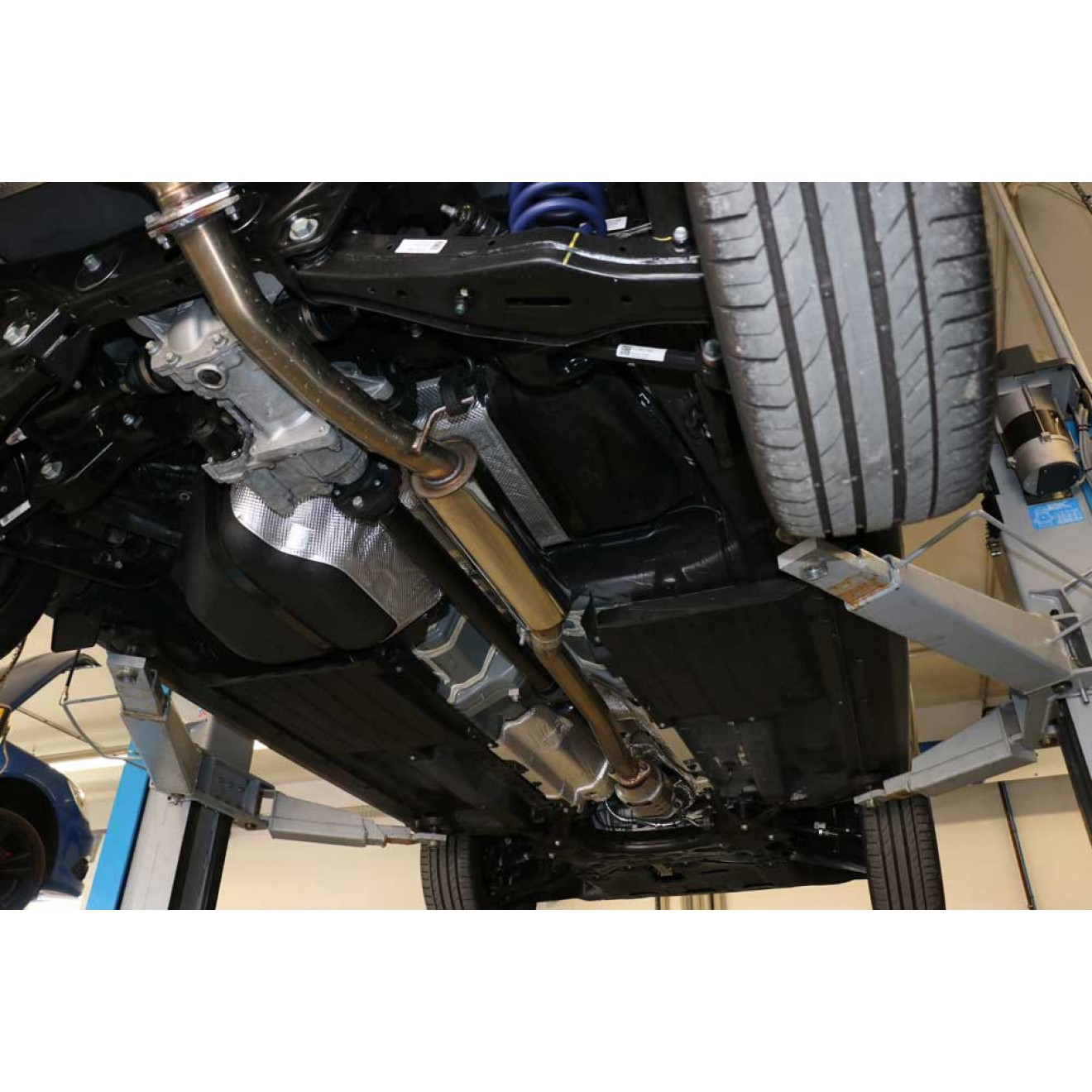 Fox Auspuff Vorschalldämpfer Schalldämpfer Hyundai Tucson 4x2 4x4 TLE 1.6, 2.0