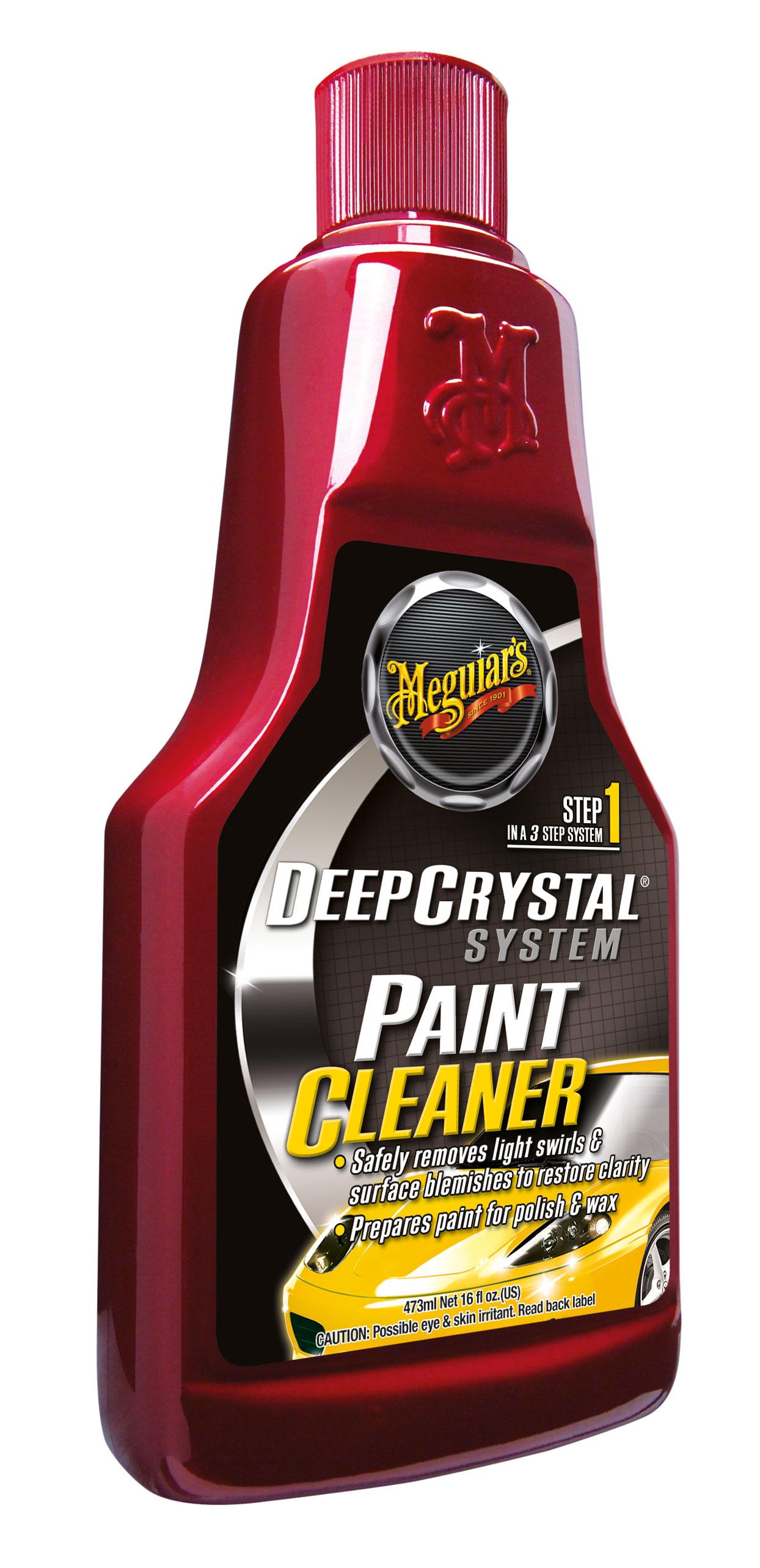 Meguiars Deep Crystal Paint Cleaner Lackreiniger Auto Reiniger A3016EU 473ml