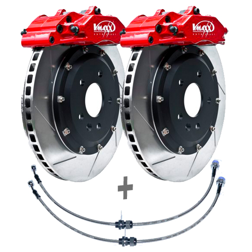V-Maxx Big Brake Kit 290mm Bremsanlage Bremsen Set Ford Fiesta JA8 bis 103kW
