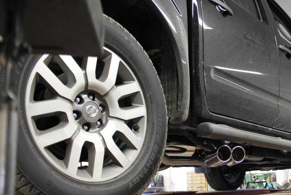 Fox Duplex Auspuff Sportauspuff Navara D40 4WD 2,5l dCi 106/126/128/140kW