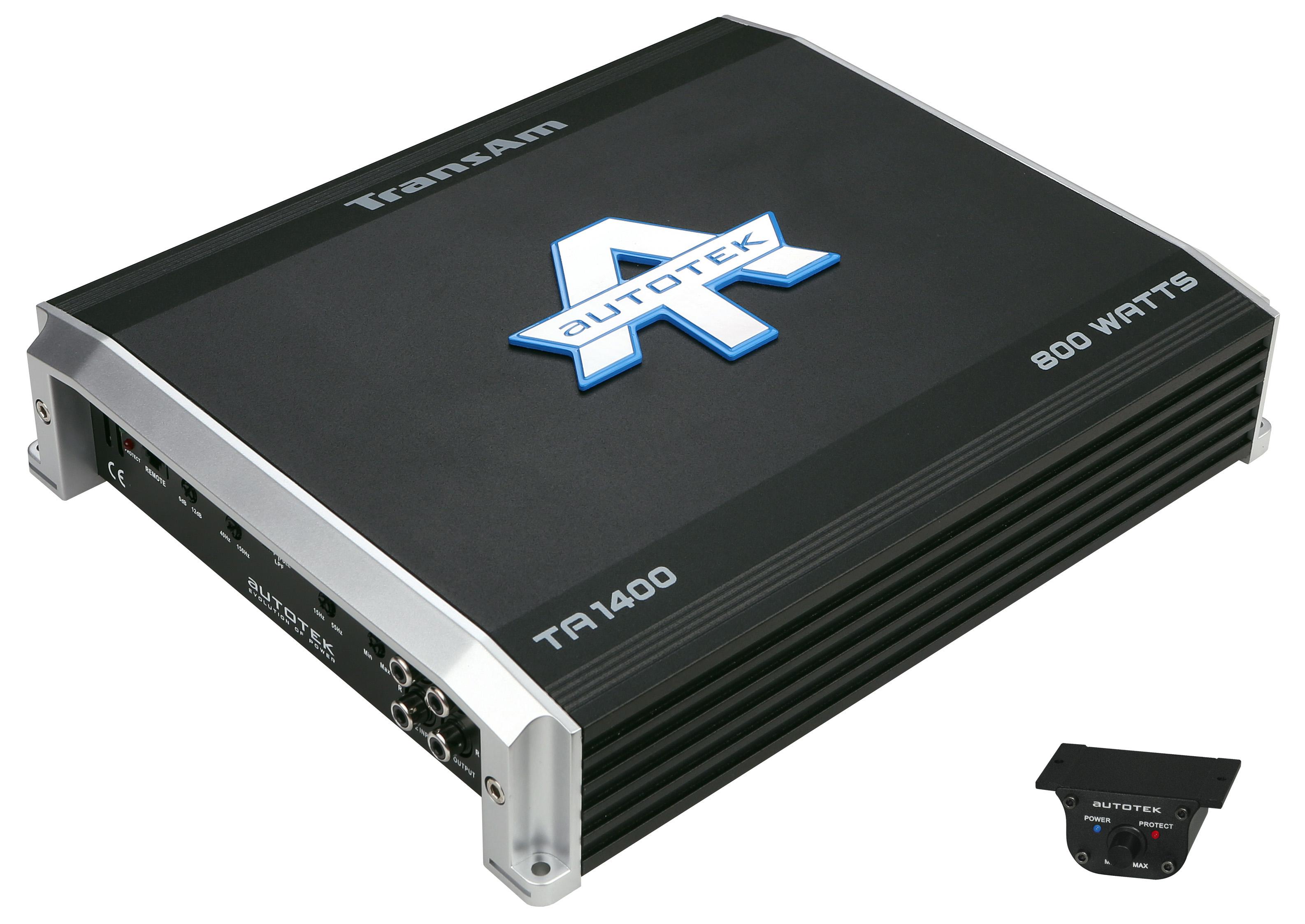 AUTOTEK Endstufe Verstärker Mono-Block analog ANALOG MONOBLOCK TA1400