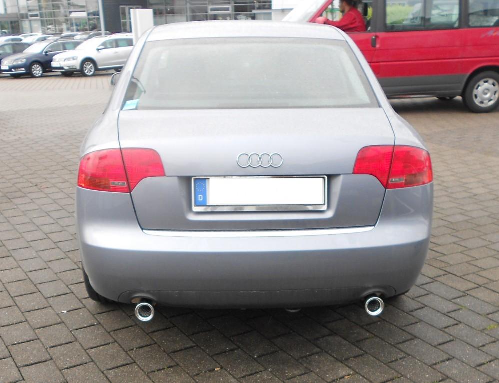 Fox Auspuff Duplex Sportauspuff Audi A4 - B7 Limousine/ Avant 1.9l