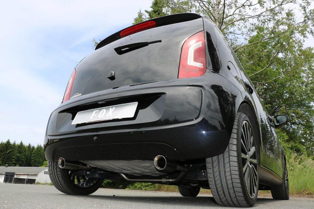 Fox Duplex Auspuff Sportauspuff Endrohrsystem Seat Mii/ Skoda Citigo/ VW UP
