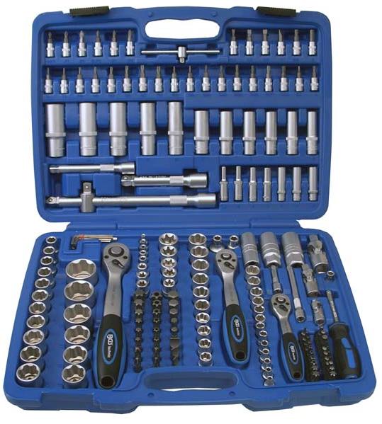 SW Stahl Knarrenkasten Werkzeugkoffer Werkzeug TORX E+T 171 tlg NEU|07630L