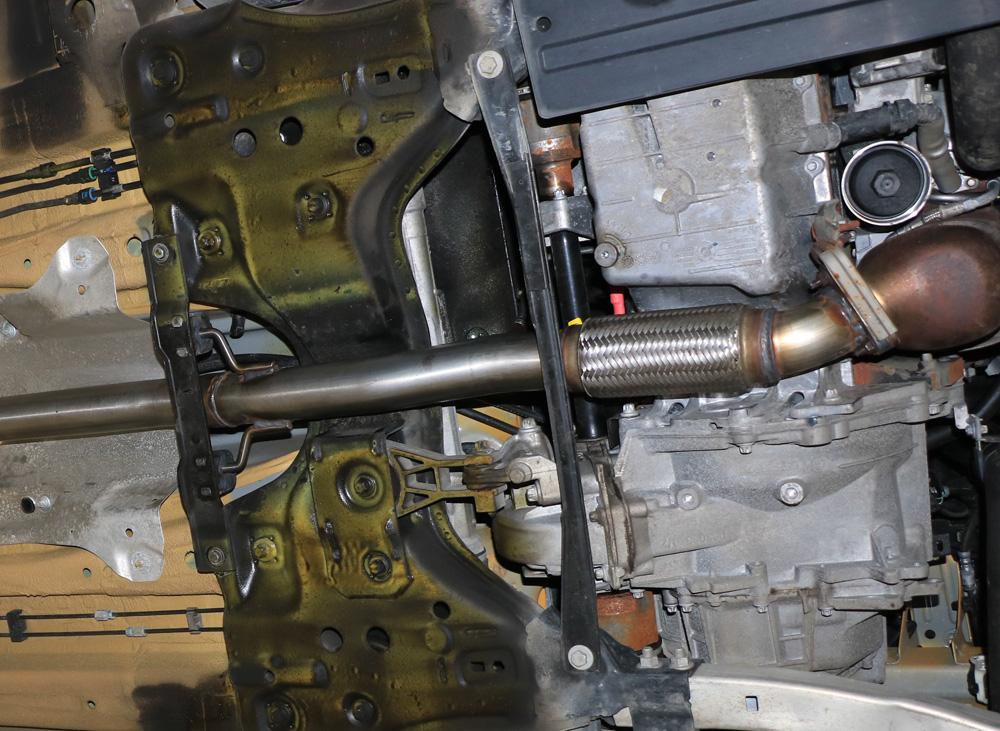 Fox Verbindungsrohr Vorschalldämpfer / Kat Opel Corsa E OPC 1,6l 152kW
