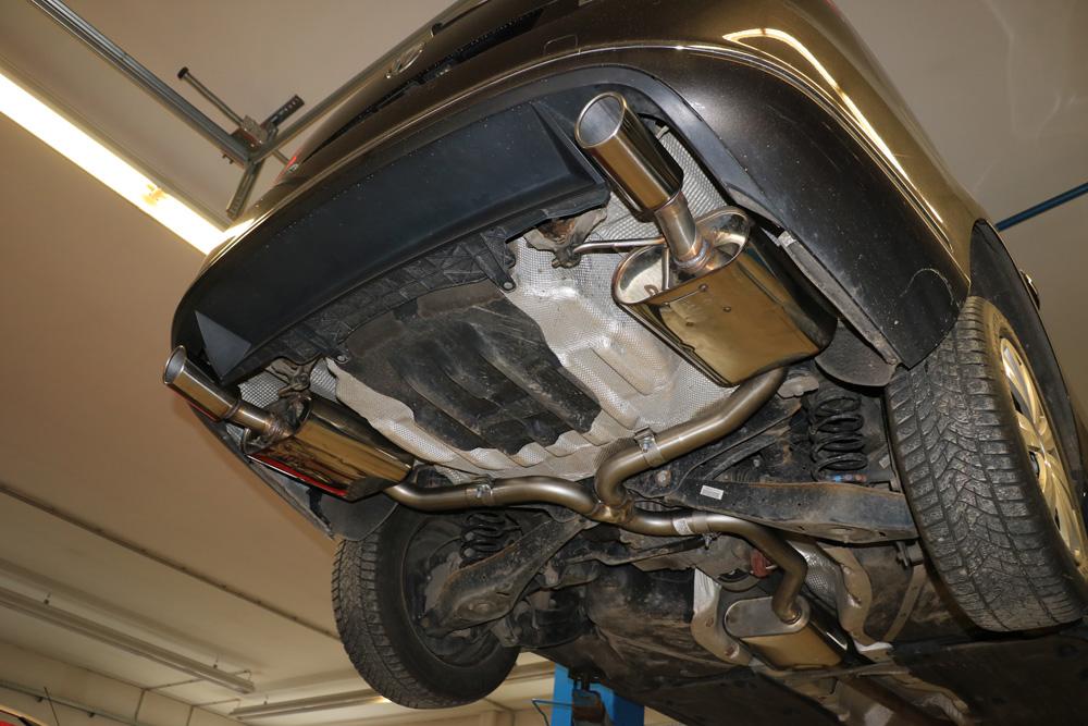 Fox Duplex Auspuff Sportauspuff VW Passat 3C/ 3C CC 4-motion 2,0l TDI 125kW