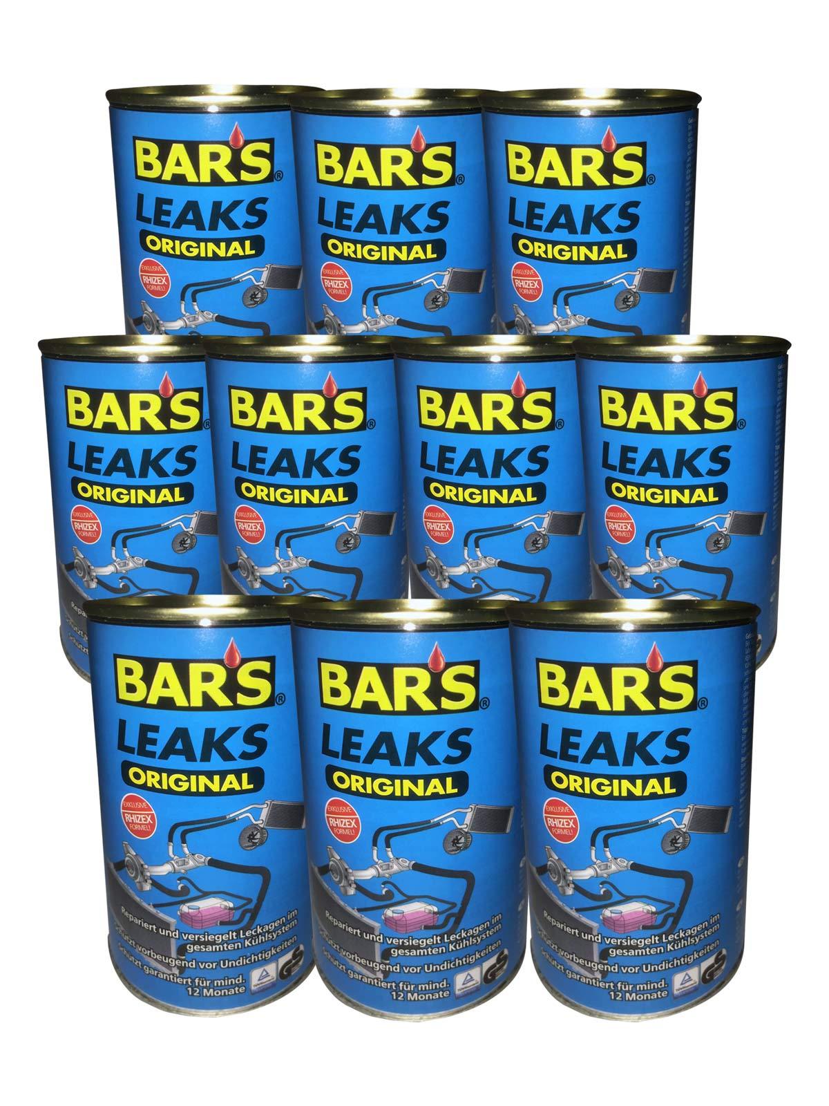 10x Dr.Wack BARS Leaks Original Kühlerdichtung Kühlerdichtmittel blaue Dose 150g