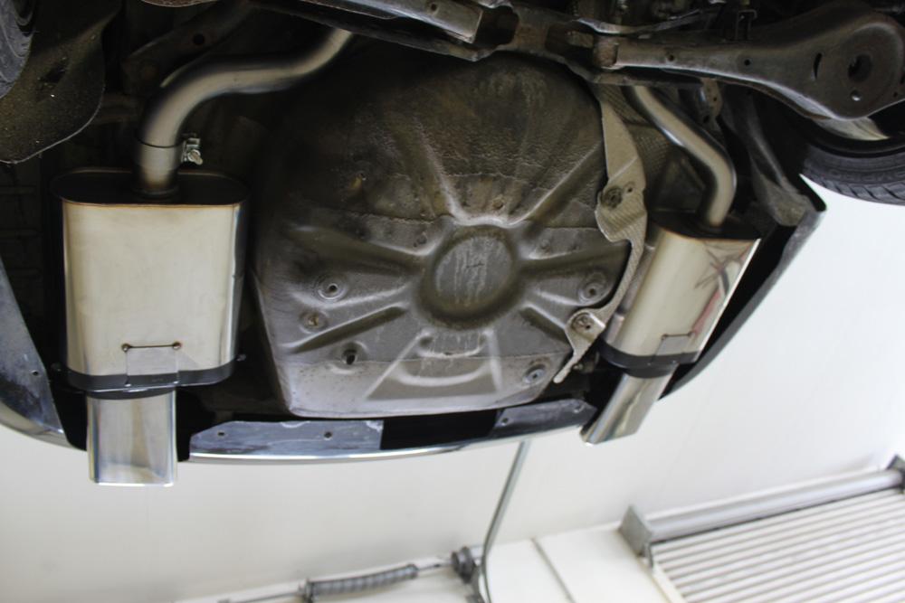 Fox Duplex Auspuff Sportauspuff Endschalldämpfer Skoda Octavia Typ 1Z 2,0l TDI