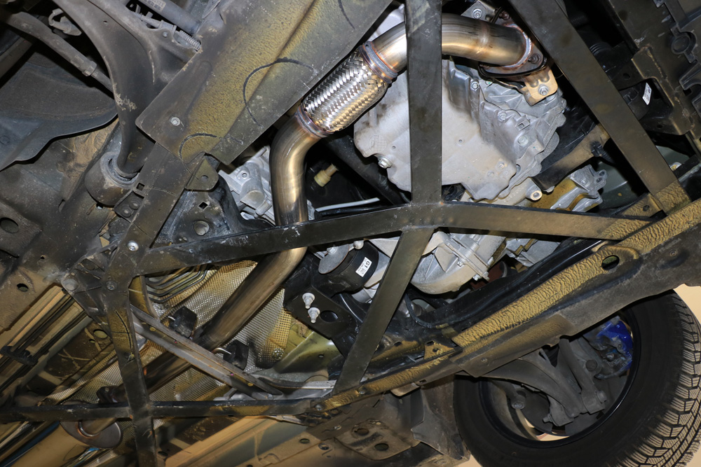 Fox Downpipe mit Flexrohr Opel Cascada 1,6l 125kW Bj. 2013-