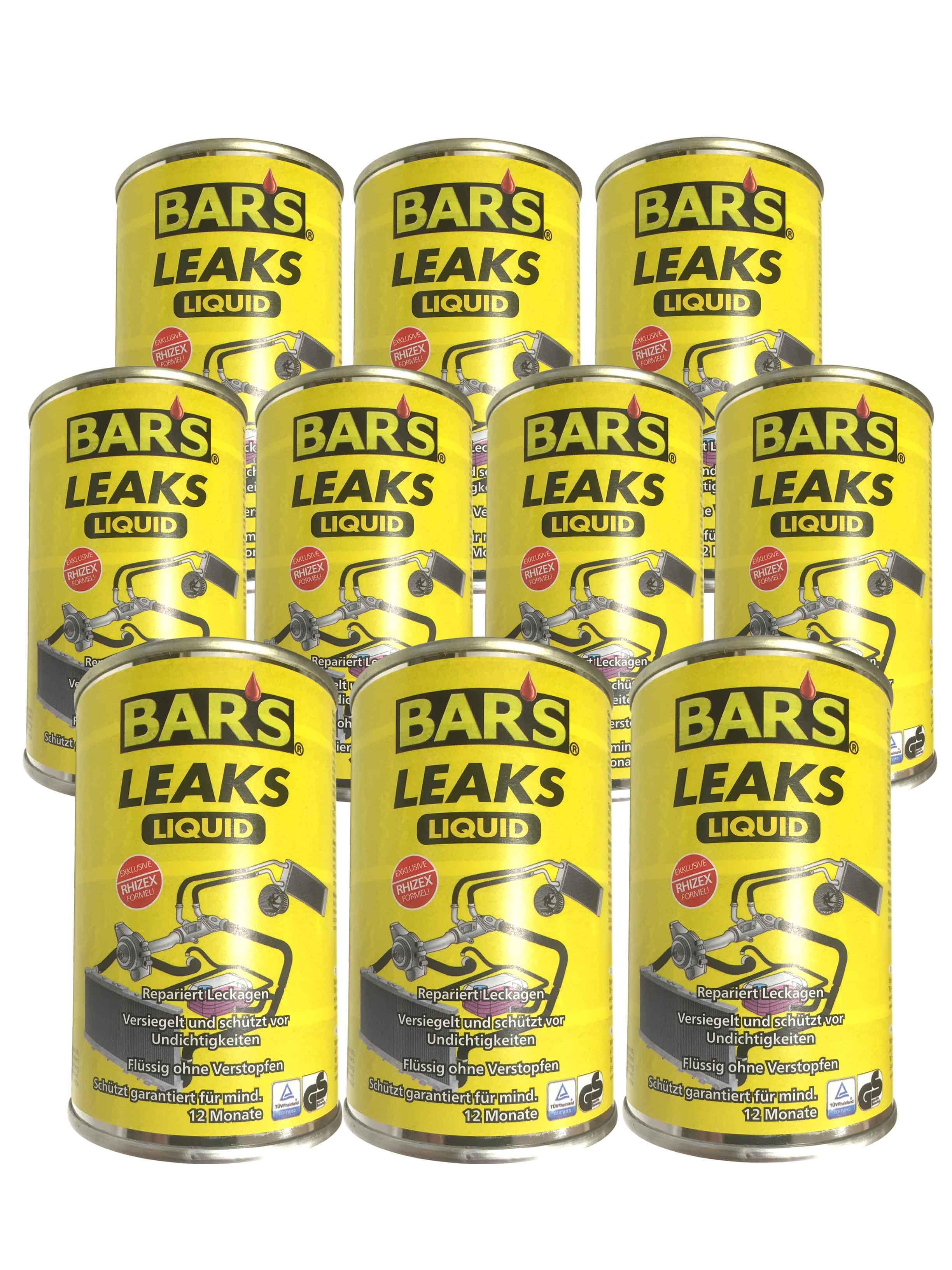 10x Dr. Wack BARS Leaks Liquid Kühlerdichtung Kühlerdichtmittel 150g