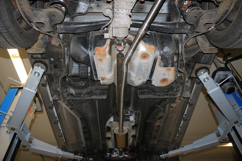 Fox Vorschalldämpfer Auspuff Sportauspuff  Opel Mokka 4x4 1,4l 103kW