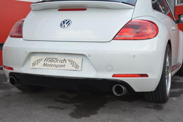 Friedrich Motorsport Duplex Auspuff Sportauspuff VW Beetle 5C ab Bj. 11-