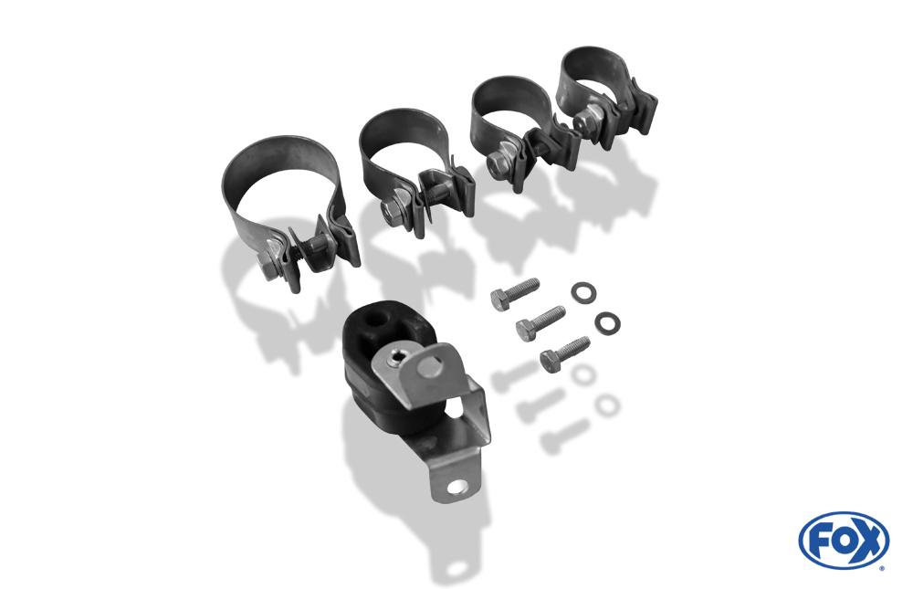 Fox Auspuff Sportauspuff Endschalldämpfer VW New Beetle 1C, 9C, 1Y 1,8l 92kW