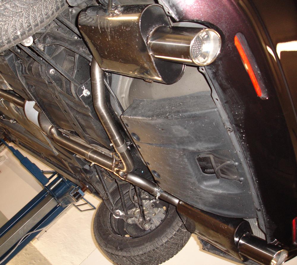 Fox Duplex Auspuff Sportauspuff Komplettanlage Honda Accord VII CL7 2,0l