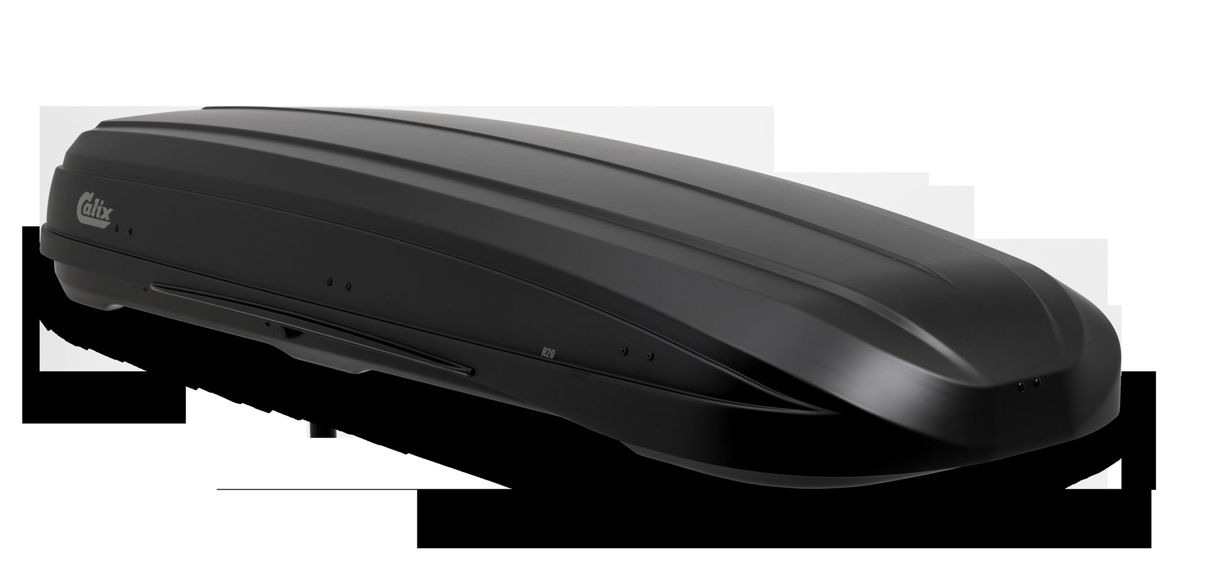 Carbox Dachbox Gepäckbox H20 mattschwarz mit Befestigung QG2.0